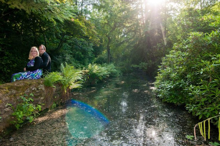 Kelly and Paul's pre wedding photography shoot